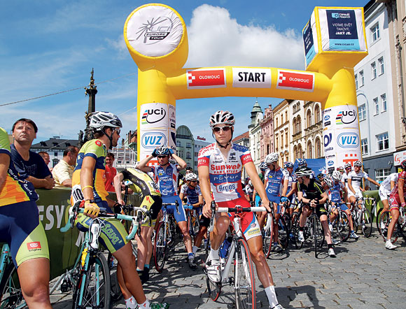 před startem závodu Czech Cycling Tour