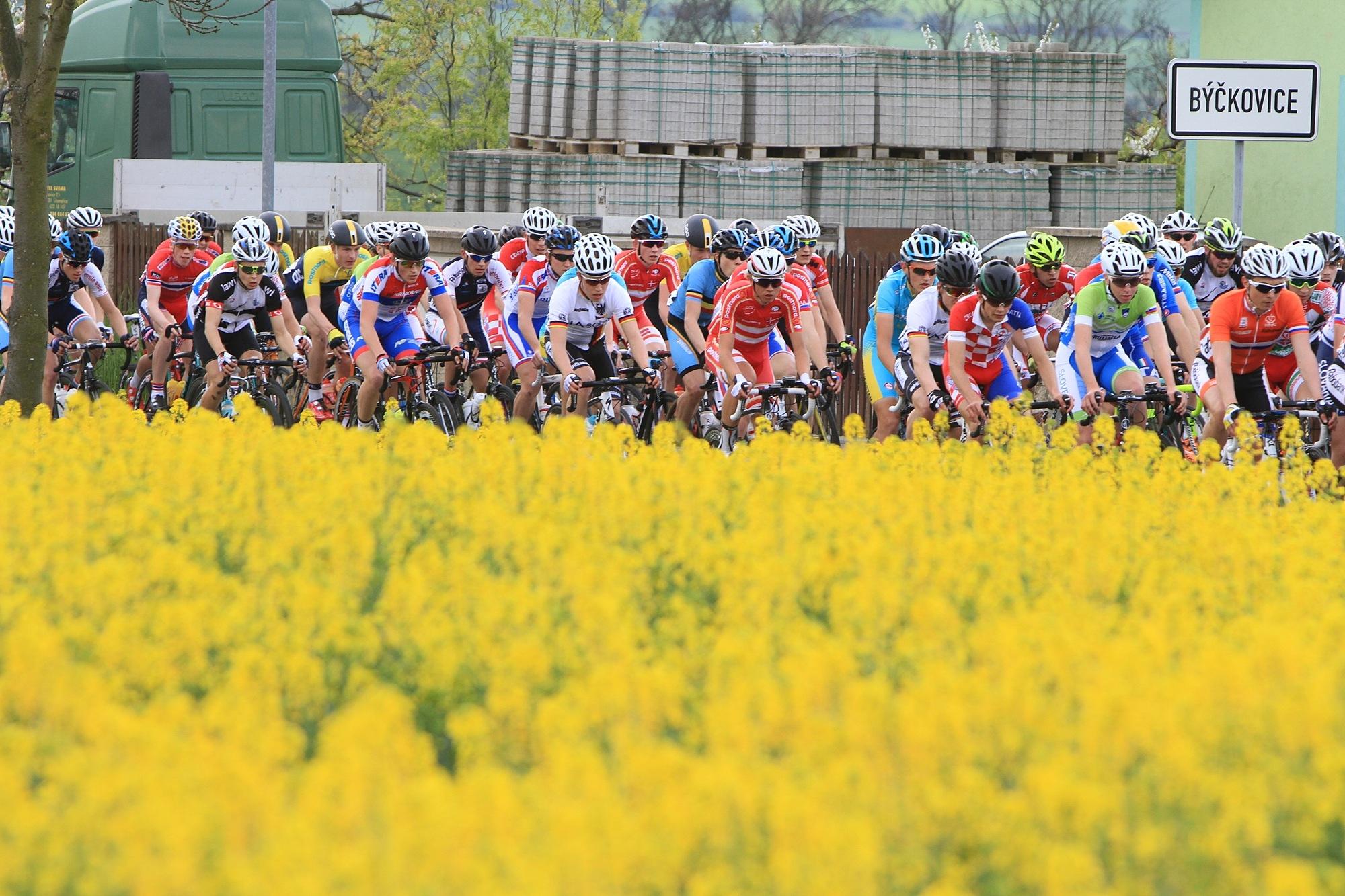 Závod míru juniorů odstartuje 4. května