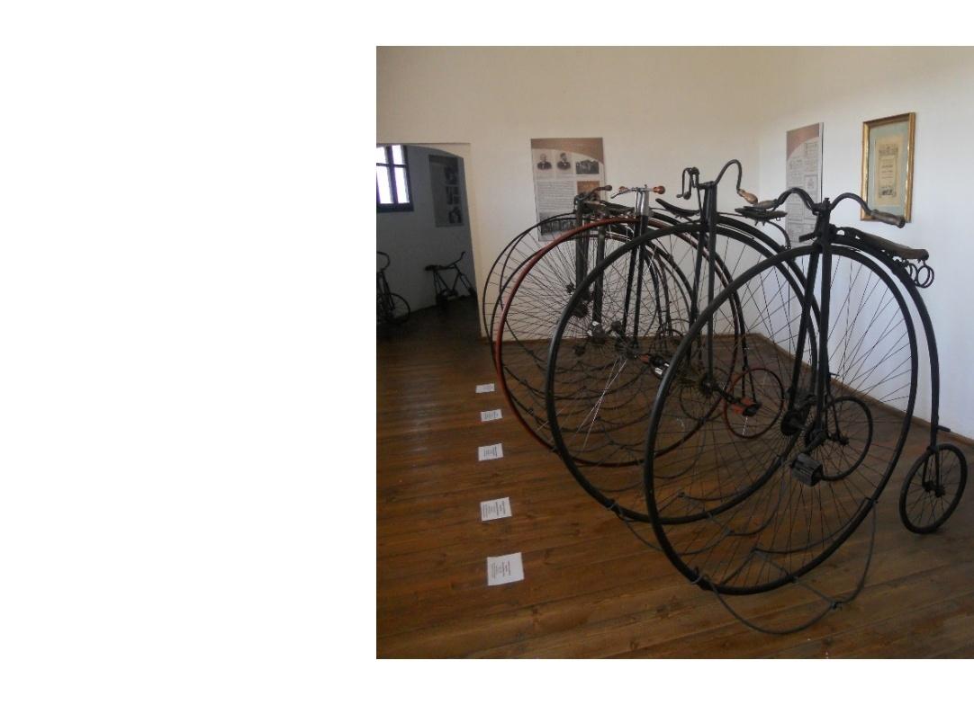 Výstava historických kol na Humprechtě, možný cíl vašeho výletu