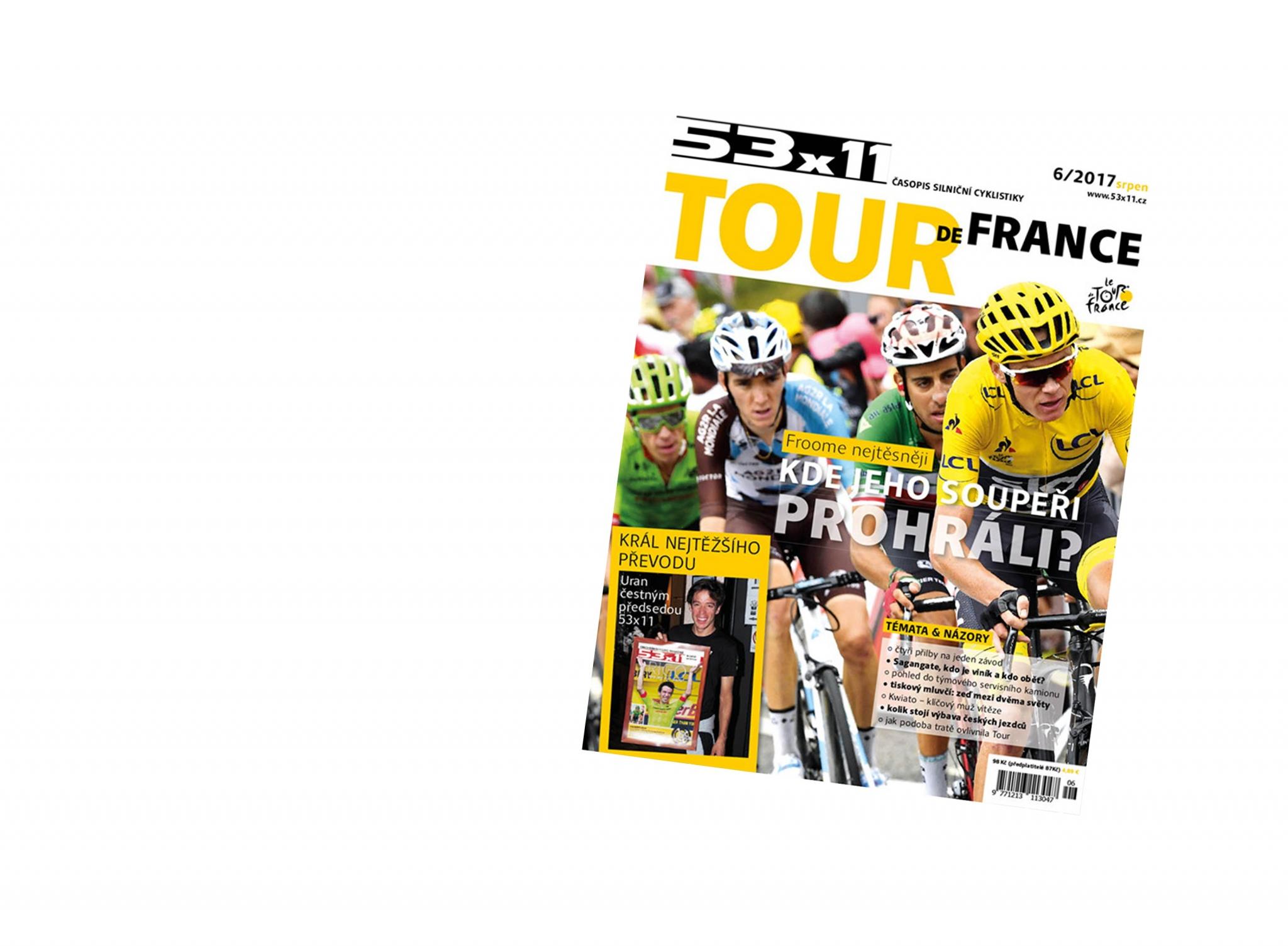 Speciál časopisu 53×11 – Tour de France 2017