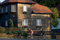 Dřevěná architektura domů v Srní