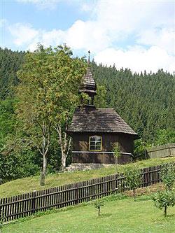 Kaple ve Velkých Karlovicích.