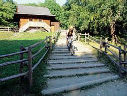 Skanzen Mlýnská dolina v Rožnově.