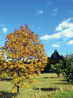 Dominanta kraje - hrad Trosky