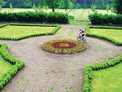 Kol kola dokola na kole ve Valdštejnské loggii
