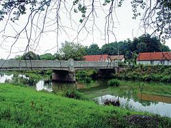 Blízko soutoku Cidliny s Labem