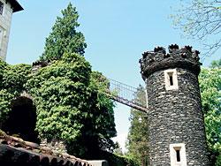 Romantické zákoutí zámku Žleby
