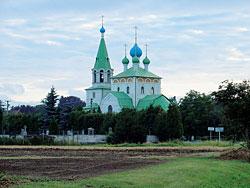 Pravoslavný kostel v Chudobíně