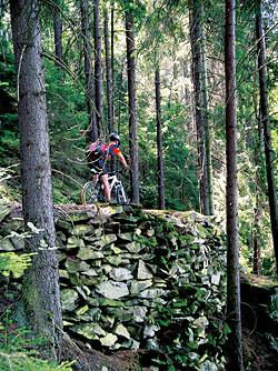 Některé úseky nejsou zrovna vhodné pro výlety s dětmi a technicky méně zdatnými bikery