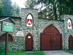 Lesní divadlo v obci Nýrsko