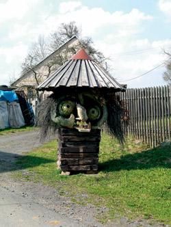 Lidová tvořivost v obci Strýčkovy