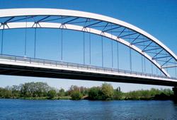 Nový most směrem na Lysou nad Labem