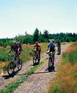 Jako první nás na svůj trail pozvali Radek Čada a jeho dva přátelé Aleš a Láďa