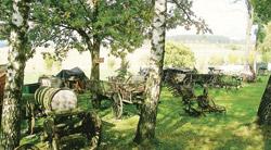Muzeum zemědělských strojů pod hradem Kámen