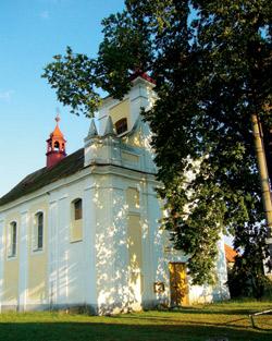 Kostel sv. Michala ve Skryjích