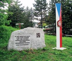 Památník pod Luží