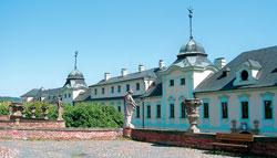 Manětínský barokní zámek