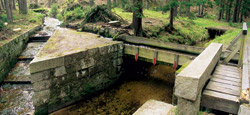 Vodní most patří k technickým skvostům Schwarzenberského díla