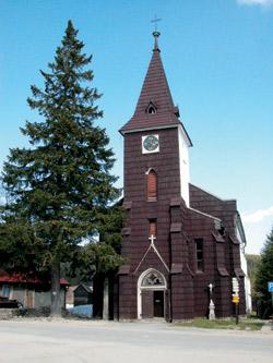 Kostelík v Kvildě
