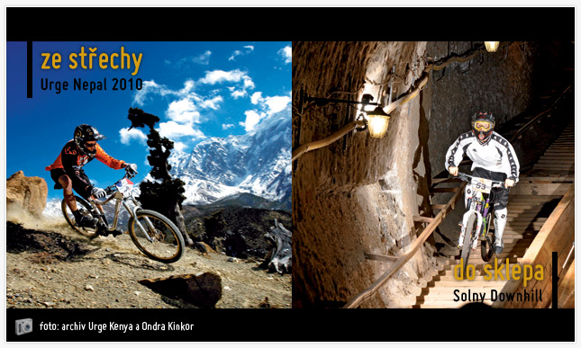 Urge Nepal a Solny Downhill