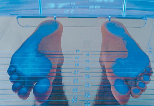 Speciální 3D vložky do bot